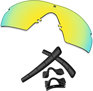 TRUSHELL 20+ Choices Rubber Kits/Lens Replacement for OAKLEY Si M Frame 2.0 Sunglass