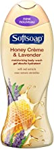 Softsoap Moisturizing Body Wash, Honey Creme and Lavender, 18 Ounce (Pack of 2)