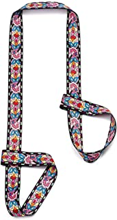 ZOOEASS Yoga Mat Strap, Adjustable Durable Yoga Mat Carrier & Stretching Strap, 70.87
