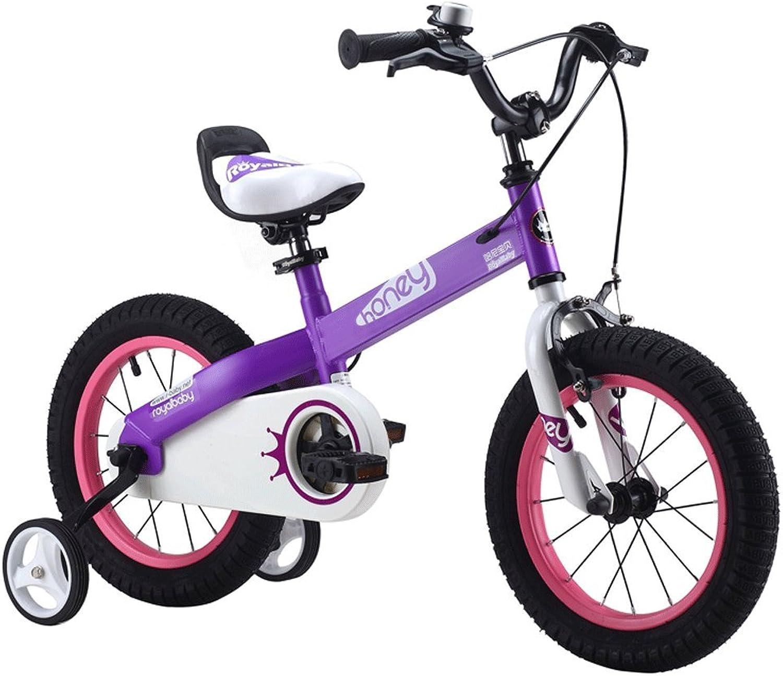 centro comercial de moda SwinX Bicicleta para para para Niños 12 14 16 Pulgadas Bicicleta para Estudiantes de 2 años y 2 años (Color   púrpura, Tamaño   12 Pulgadas)  nuevo estilo