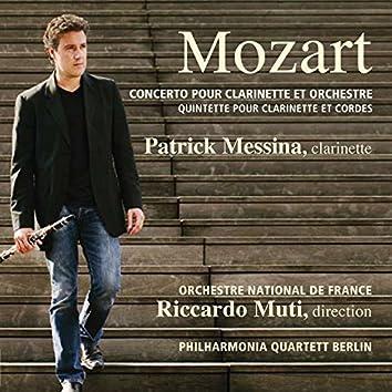 Mozart: Concerto pour clarinette et orchestre, K. 622 - Quintette pour clarinette et cordes, K.581