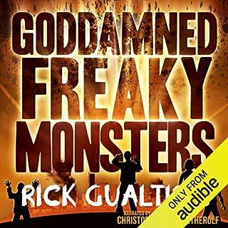 Goddamned Freaky Monsters cover art