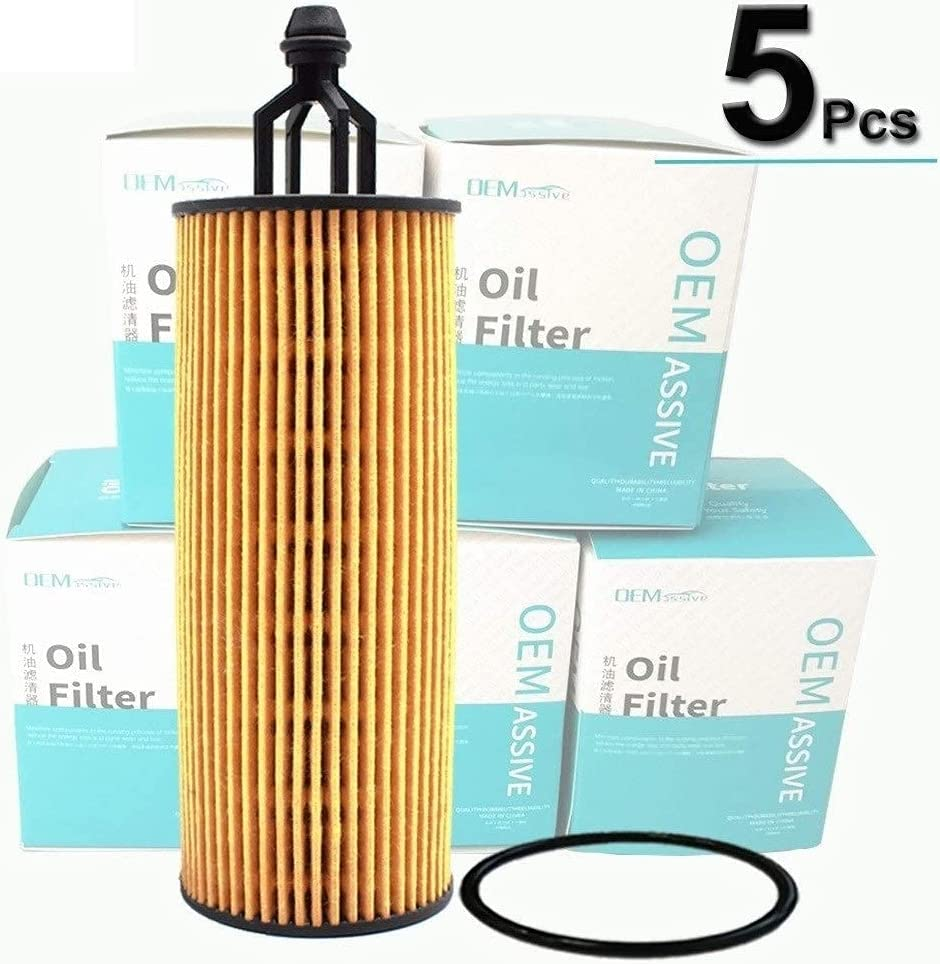 5 Pieces Oil Filters 68191349AA Ranking 70% OFF Outlet TOP16 For Chrysler Jeep Grand Ch Dodge