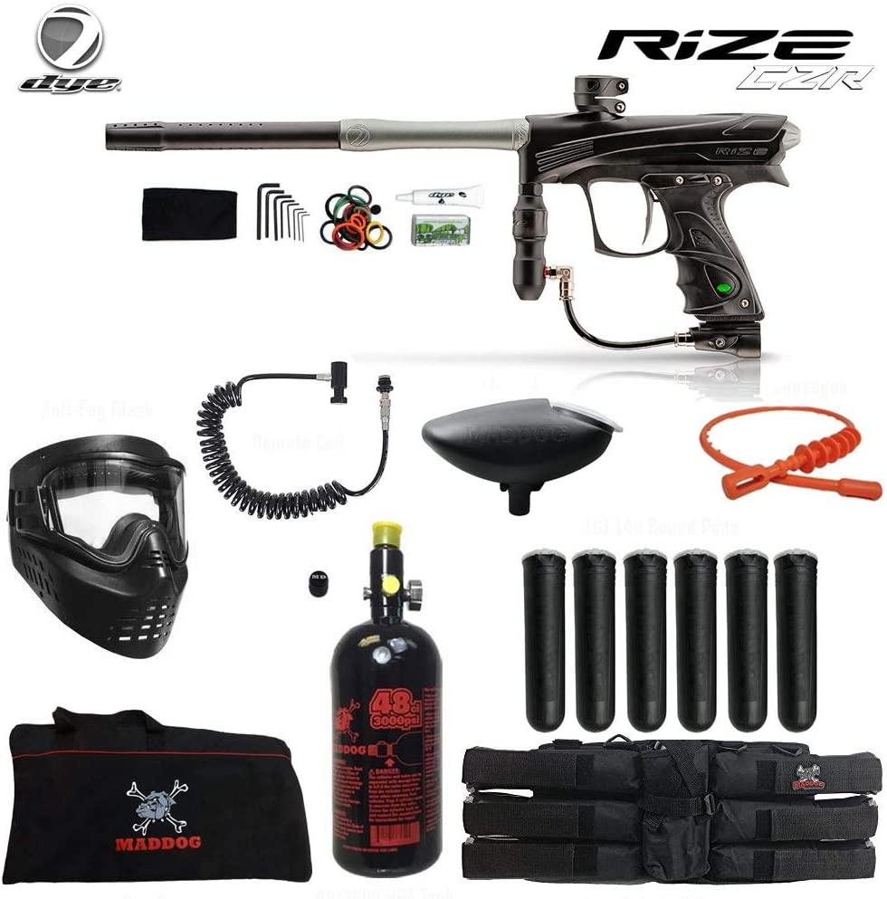 Maddog Dye Rize CZR In stock Paintball Marker online shop Gun HPA Corporal