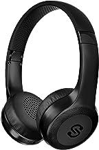 Cascos Bluetooth SoundPEATS A1 Pro Auriculares Diadema Inalámbricos con Micrófono Manos Libres Bluetooth 4.1 USB Estéreo Audio 25 Hrs Reproducción CVC 6.0 Reducción de Ruido Headphones para Móvil