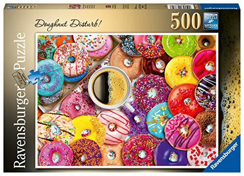 Ravensburger 16774 - Doughnut Disturb 500 Teile Puzzle für Erwachsene & Kinder ab 10 Jahren