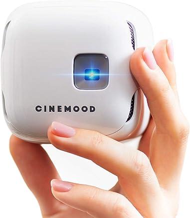 d2fbe129a7e89a CINEMOOD Portable Movie Theater- Includes Disney Family Favorites, Streams  Netflix, Amazon Prime Videos