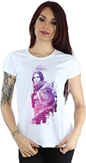 Star Wars Women's Rogue One Jyn Erso Rebel T-Shirt