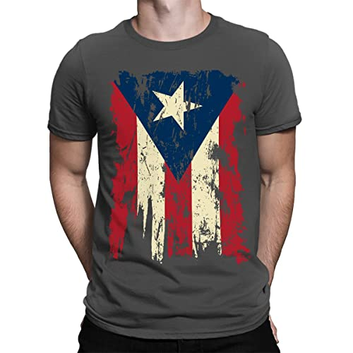 577719d12b SpiritForged Apparel Vintage Distressed Puerto Rico Men s T-Shirt