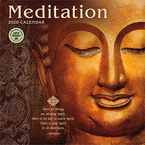 Meditation 2020 Wall Calendar