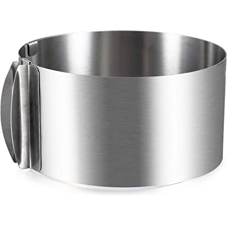 12x Stainless Steel Ring Round Cake Mould Doughnut Fondant Molds Baking Tool NF