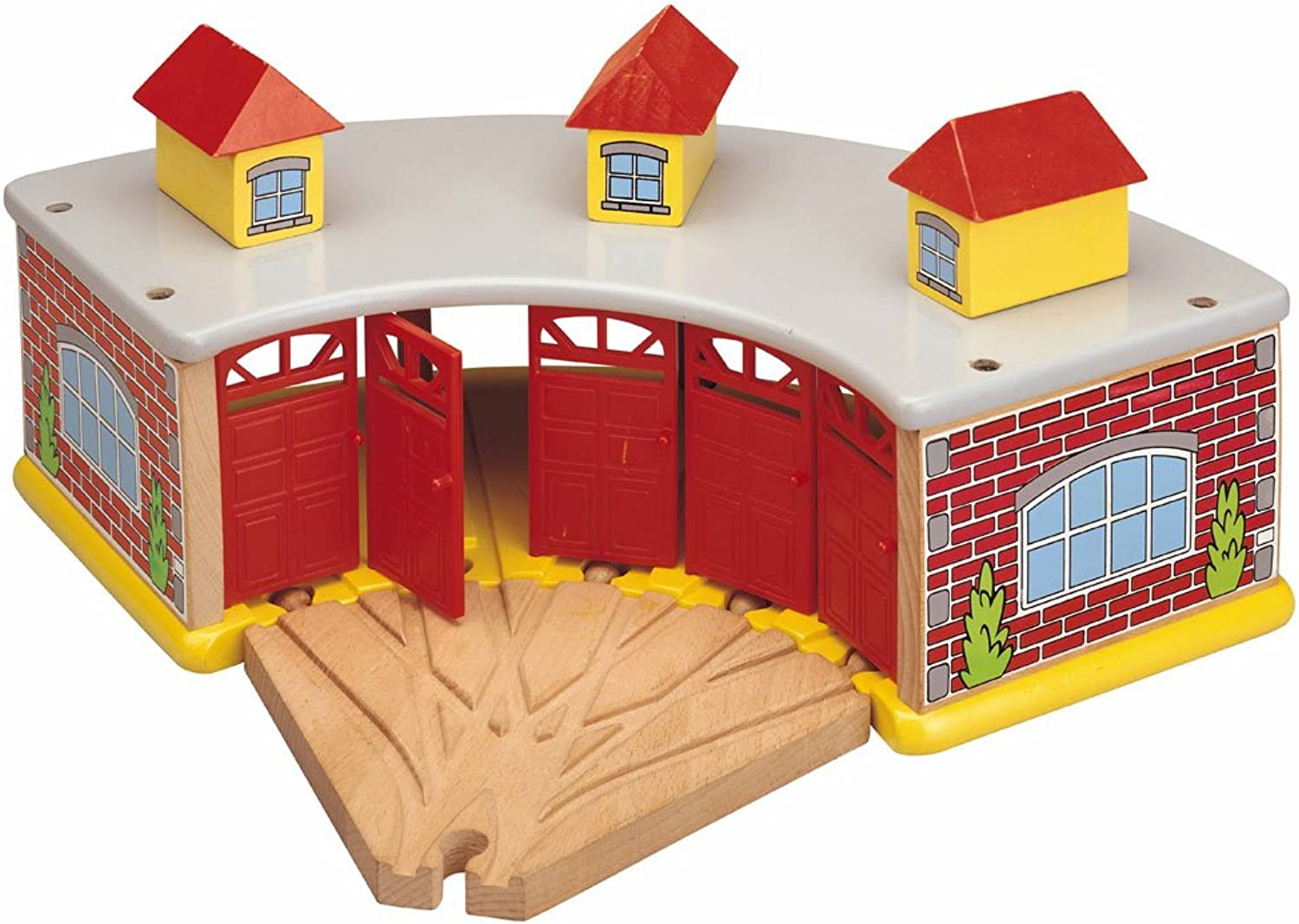The Big Train Round House With 5 Way Track