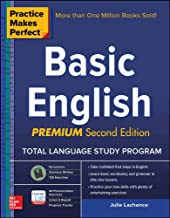 Practice Makes Perfect Basic English, Second Edition: (Beginner) 53 leasons +125 Exercises + 40 Audio Pronunciation Exercises (Practice Makes Perfect Series) PDF