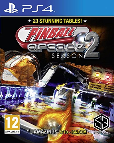 Pinball Arcade Season 2 : Playstation 4 , ML