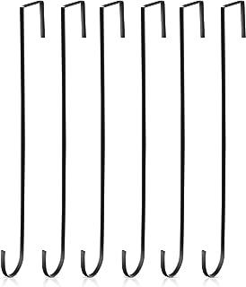 15 Pouces Crochets de Suspension de Guirlande de Noël Crochets Métalliques de la Porte Crochets pour Porte-Serviettes Prat...