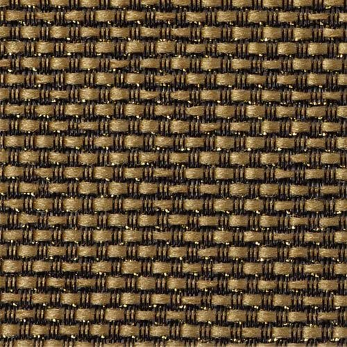 Mojotone Black and Tan with Gold Sparkle Grill Cloth 33 Wide product image
