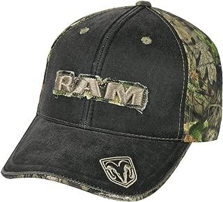Dodge Ram Mossy Oak Frayed Patch Camo Hat