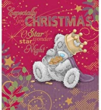Especially For You Me to You Bear Christmas Greetings Card - Tatty Teddy Quality