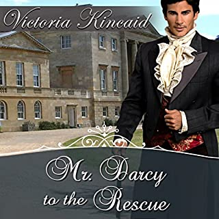 Mr. Darcy to the Rescue audiobook cover art