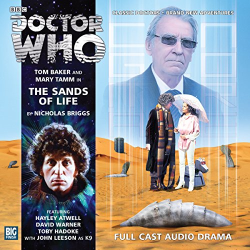 Doctor Who - The Sands of Life audiobook cover art