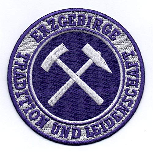 Erzgebirge Aufnäher/Bügelbild / Stickbild/Iron on Patch