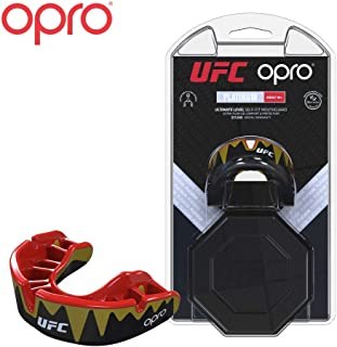 OPRO UFC Adult Mouthguard for MMA, Boxing, BJJ, and Other Combat Sports - 18 Month Dental Warranty