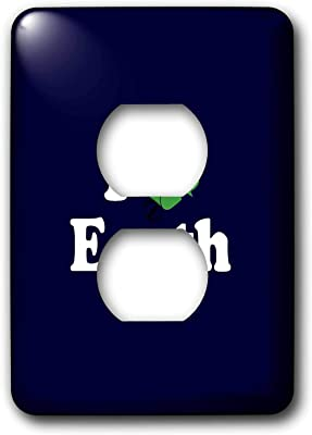 Art Plates Brand Electrical Outlet Cover Wall Switch Plate High Rise Amazon Com