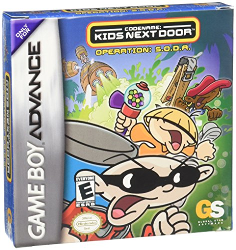 Codename : Kid Next Door - Operation S.o.d.a. (GBA)