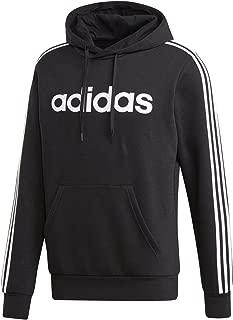 Men's Essentials 3-stripes Pullover Fleece Hooded Sweatshirt