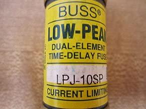 COOPER BUSSMANN LPJ-10SP FUSE, 10A, 600V, TIME DELAY