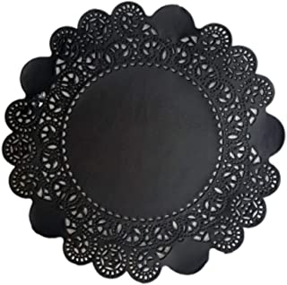 Doilykorea - Premium (5inch, 250pcs) Disposable Round Paper Doily - Non-Dust, Clean-Cut, Simple design -Lovely Lace Doilies with Various Color :Party/Wedding/Gift/Flower wrap/for Table [5