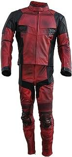 Best deadpool leather motorcycle suit Reviews