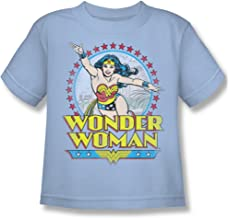 DC Comics Boys' Star of Paradise Island Childrens T-Shirt Blue