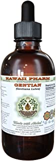 Gentian Alcohol-FREE Liquid Extract, Organic Gentian (Gentiana lutea) Dried Root Glycerite 2 oz