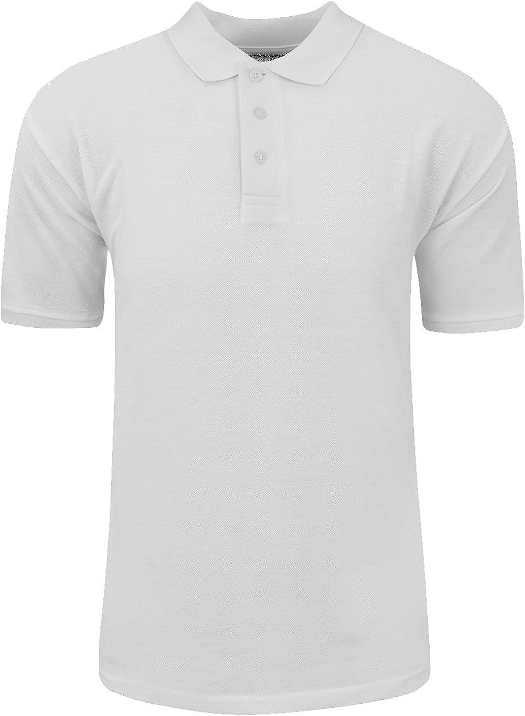 Shaka Bargain sale Wear Men's Polo Shirt Slee Max 62% OFF Pique Short Classic –