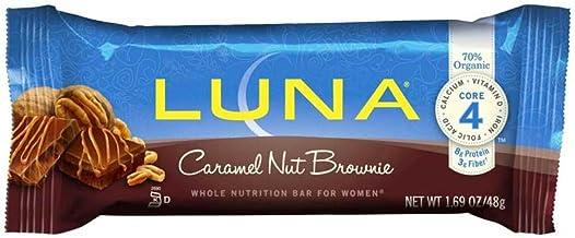 Cliff Bar Luna Bar, Og, Crml Nut Brwn, 1.69-Ounce (Pack of 15)