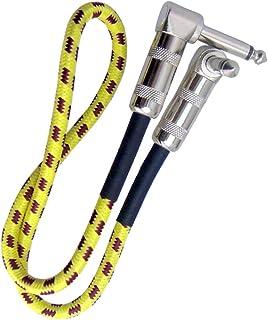 Baoblaze 3 Colours 50CM 6.35mm Guitar Effect Pedal Cable Guitar Instrument Cable - #4