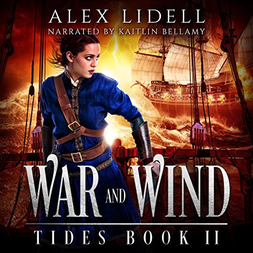 War and Wind audiobook cover art