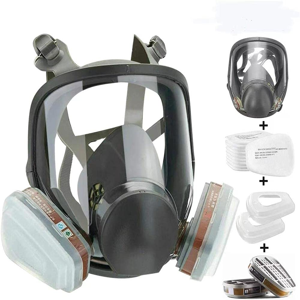 Whspndu 15 in 1 Cheap bargain Full Face Size Large Used Selling Widely Respirator