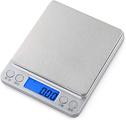 GLJJQMY Bakeable Small Food Household Scale Kitchen Electronic Scale 0.01g Gram Small Scale Precision Weighing Gram Electronic Scale