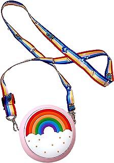 Heiqlay Umhängetasche für Mädchen umhängetasche für kinder handtasche mädchen kinder tasche für mädchen, Regenbogen, Kinde...