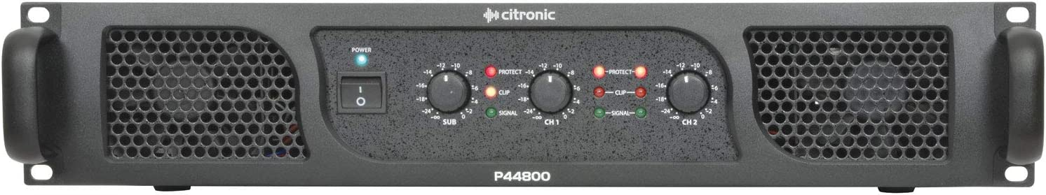 citronic P44800 2 x 400 40% OFF Cheap Sale W Sub Amplifier Stereo Power and 67% OFF of fixed price