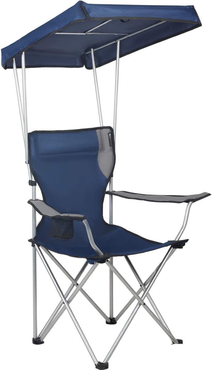 PORTAL Folding Quad Under blast sales Camping with Shade Canopy Chair Same day shipping