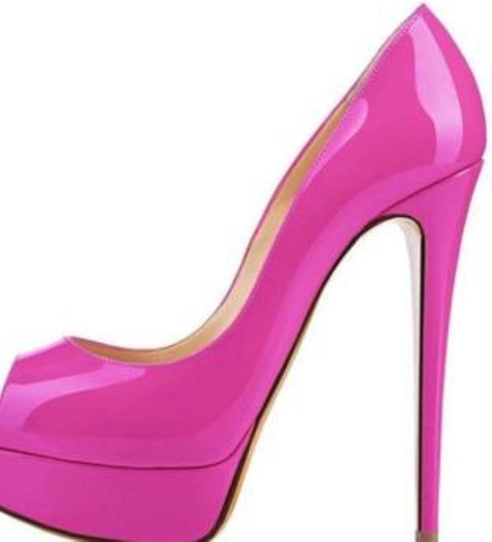 Heels Brand shoes Women Platform High Heels Pumps Peep Toe shoes