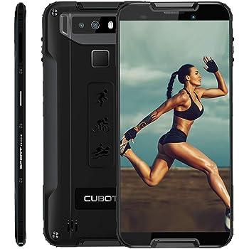 CUBOT Quest 4G IP68 Móvil Libre Impermeable Smartphone Robusto Android 9.0 4GB+64GB 5.5 Pulgadas Android Dual SIM Quad-Core Dual Cámara 12Mp 4000mAh Botón Personaliado NFC Type-C Negro: Amazon.es: Electrónica