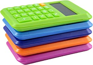 $21 » XYW Pocket Calculator - 8-Digit LCD Display Portable Business Office Study Bookkeeping Student Desktop Accounting Office C...