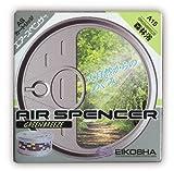 Air Spencer Ambientador Coche, Oficina y hogar. Aromas nuevos y Variables basado en perfumes Famosas Marcas. Perfumador Lata Se fabrica en Japón (A-15 Green Breeze)