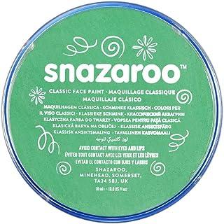 Snazaroo Classic Face Paint, Bright Green, 18ml