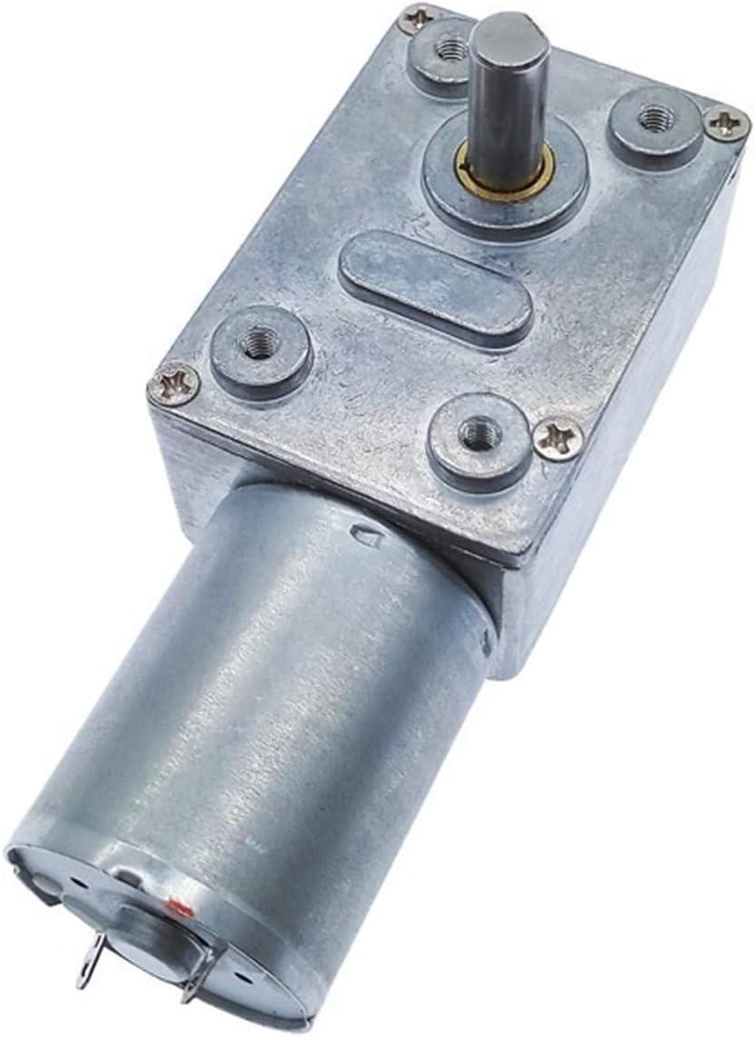 Speed V Getriebegetriebe Reduzierer hohe Qualit/ät 100 RPM 200RPM 46//32 : 1RPM : 12V RPM Aojing LHjin-Motoren 370 DC 12V Getriebe Reduktion Motor Wurm Umkehrbarer Turbo 2RPM Voltage