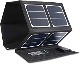 Kingsolar Solar Charger 40W Portable Solar Panel Charger with 5V USB 18V DC Dual Output..